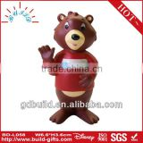 Grizzly bear doll cartoon bear