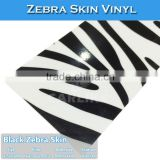 CARLIKE 1.52x30m Fashion Black zebra skin Car Wrap Vinyl Foil