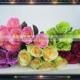 Factory rose wholesale wedding bouquet flowers                                                                         Quality Choice