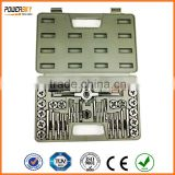 40 Pcs Metric Tap & Die Set/ 24pcs UNC & UNF Tap & Die Set