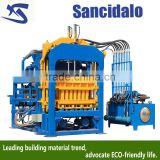 QT4-15C big fly ash block making machine , bamboo pallets for concrete block machine