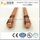 Electroplated Copper Ground Earth Rod for Lightning Protection