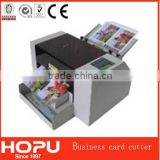 HOPU a3 rotary trimmer automatic business card die cutting machine