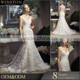 Best Quality Sales for scoop floor length ball gown wedding dress
