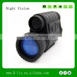 Day and Night Rangefinder Laser Ranging Night Vision Digital Compass Night Vision Scope For Hunting or CS Game