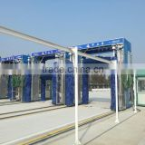 Best selling high pressure gantry bus wash machine DXC(C)-500 monolayer with CE for buses and trucks