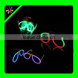big round 5*200 mm glow stick glowstick eye glasses glow eyeglasses