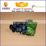 Realistic artificial grapes vines for sale/ EVA material soft grape model for decoration