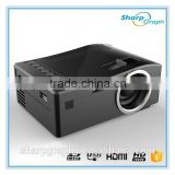 UNIC Portable Low Price LED Projector with Battery UC18 Pocket Proyectores for Home Theatre