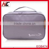 Wholesale hot sale promotional cheap basics mens travel cosmetic bag