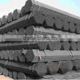 Black Welded Steel Pipe Tube for Steel Scaffolding and Clamps System