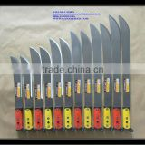 South American machete,bush knife, machete knife, cane knife with color plastic handle M205