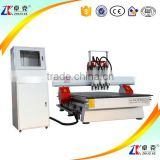 Auto Tool Change Woodworking CNC Router Machine ZK-1325 1300*2500MM Wooden Door Making Equipment