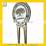 China craft factory Good quality comtomized golf divot tool with logo                                                                         Quality Choice