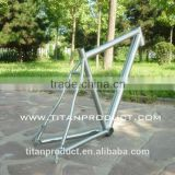 Grade 9 Titanium Bike Frames Ti Road Frames Ti Touring Frame Tapered Head Tube Post Mount PM Disc Brake