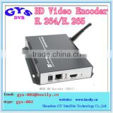 H.264 H.265 HEVC IPTV Decoder Audio Video encoder Streaming Server Encoder