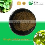 China supplier wholesale ginkgo biloba extract powder