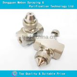 best price air atomizing nozzle high temperature resistance air atomizing nozzle wide angle round air atomizing nozzle