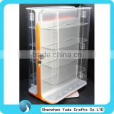 custom made floor stand clear acrylic cigarette display unit supermarket display shelves