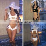 Sexy Women Bandage Strappy Swimsuit Bikini Bathing Suit Padded Push-Up Swimwear