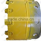 Casing shoe with WS39 teeth for casing tube drilling piling equipment