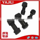 High quality black hex track shoe bolt and nut