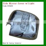 toyota parts #000438 hiace side mirror cover with light chrome side mirror cover for hiace