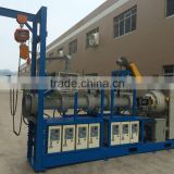 150 extruder / NBR and PVC Insulation pipe extrusion machine // sponge EPDM rubber tube and sheet production line