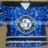 Camo Custom Made Ice Hockey Jersey Sublimation Team Set Clothing Design