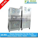 Industrial air purifier ozone generator, air filter dust removal, air cooling removel odors Industrial Air Purifier
