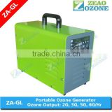 Small water pond water disinfection ozone generator for aquarium