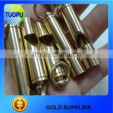 Classic EDC Tool Collection Whistle,45*10mm Mini Survival Whistle,Portable Brass Emergency Whistle