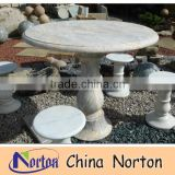 Antique natural outdoor round slate stone table tops NTS-B274A