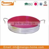 Fashion design galvanized steel metal fruit tray for home