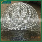 razor type barbed wire for residence district warehouse prisons military fields
