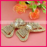 wholesale cheap clear rhinestone shoe clip