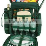 Four Person camping Kids Picnic Backpack
