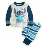 S32672W Baby clothing set hot sell pajamas desig children's sleepwear boys animal pajama