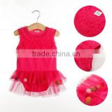 baby dress sleeveless cute baby bridesmaid dresses