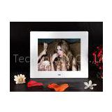 8 Inch Audio / Video / Photo Plastic Digital Pop Displays Digital Photo Frame