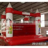 Inflatable lovely red bouncer Inflatable mini playground