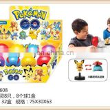 2016year new hot sell pokemon ball with pokemon figure toy