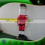 New Cheap Custom Made 2 M Inflatable Replica Soldier/ Inflatable Advertising Helium Balloon with Digital Printing for Sale