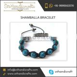 2016 Newly Arrive Various Sizes Shamballa Bracelet Supplier