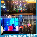 Cheer up assorted color inflatable wedding lighted balloons