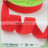 "5/8"" red satin elastic tape"