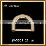 Song A 2014 Fashion style hotsale d ring buckle 25mm