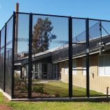 Heavy dense 358 anti-climb fence storage facilities fencing