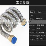 High quality promotion price bathroom essential hose pipe ,304 stainless steel Bellows Hose ,corrugated Pipe