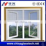 Anti-aging thermal break &normal aluminum alloy profile size customized sound insulation blind inside double glass window